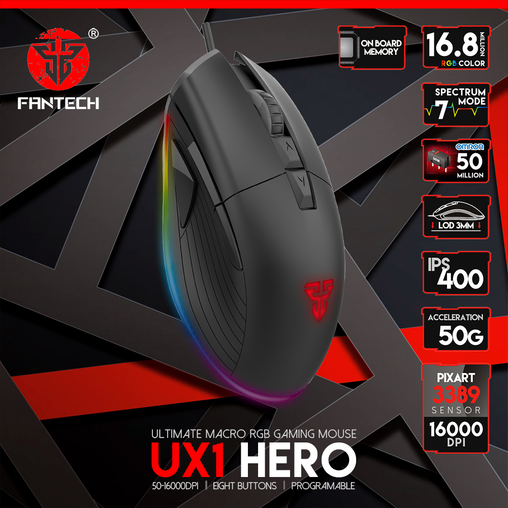 Image result for Fantech UX1 Hero Ultimate